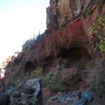 La Palma-El Tablado-Lange Wandeling naar strand-Holen