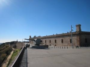 Barcelona Fort Montjuic (Castell de Montjuïc)