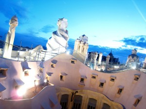 Barcelona La Pedrera By Night