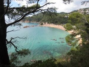 Kustwandeling bij Lloret de Mar (na Boadella)